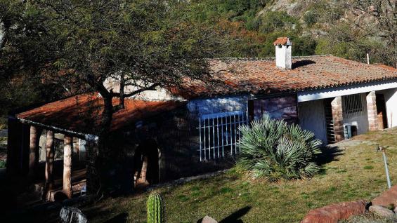 Casa museo de Atahualpa Yupanqui, en el paraje Agua Escondida. (Bibiana Fulchieri)