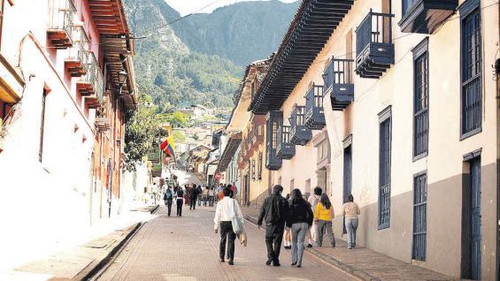 La Candelaria, el centro histórico de Bogotá y donde fue fundada.