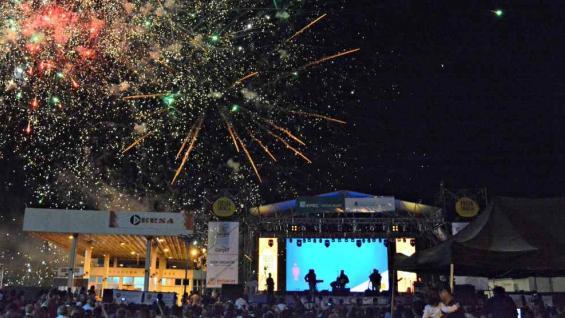 EMOCIONANTE. La Fiesta Criolla ofrece color, música y sabor, miles de personas la celebran todos los años (Foto Municipalidad de Estación Juárez Celman).