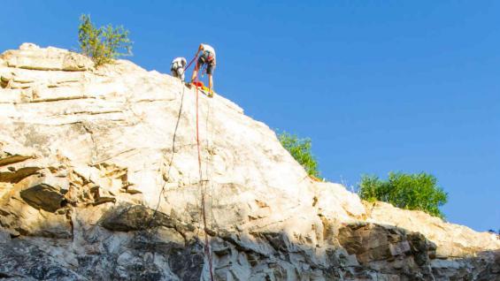 La caverna Los Sauces está ubicada en La Falda, en el Valle de Punilla. (Rodolfo Alaluf)