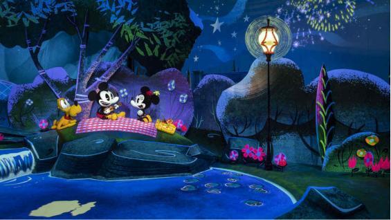 Esta atracción utiliza la última tecnología para transformar los clásicos dibujos animados es una verdadera aventura 3D. (Disney)