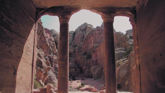 Una belleza. Petra guarda un verdadero tesoro en sus rocas. (Fotografías de Elizabeth Zanni)
