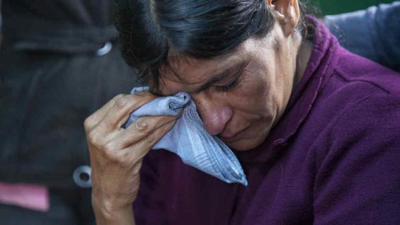 Cipriana, la madre de Gilberto (AP).