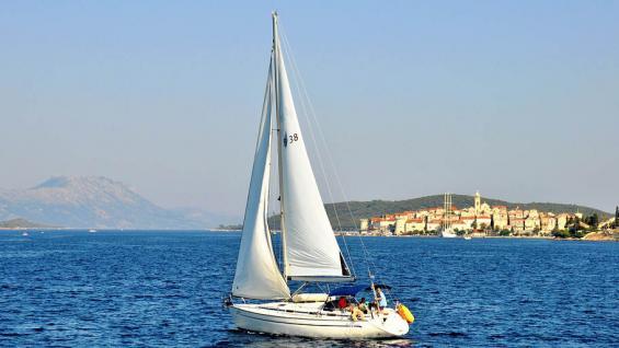 Paseo en velero en Korcula. /JoelleLC vía Pixabay
