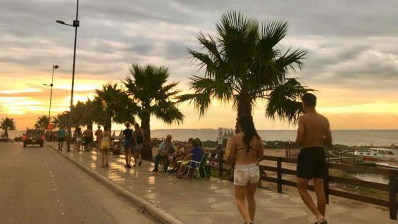 Una caminata por la costanera, atractivo central. (Florencia Castro)