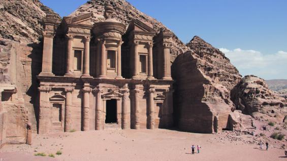 El Monasterio. Otro de los íconos que identifican a Petra en el mundo.(Fotografías de Elizabeth Zanni)