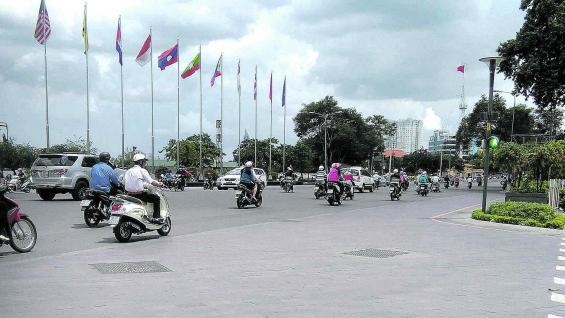 Tránsito caótico. Siete millones de motos circulan por la ciudad.