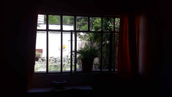 Vista hacia el patio de la casa familiar de los Rivolta. (Benita Cuellar)