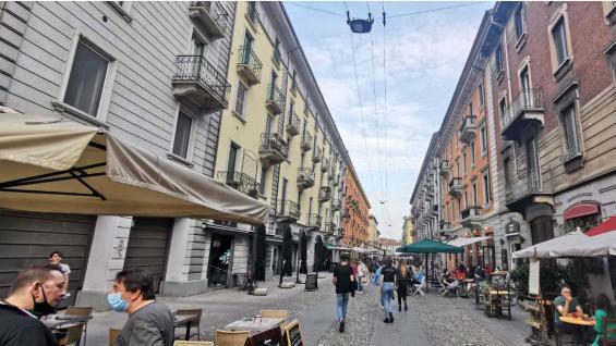 Navigli es el barrio de los canales de Milán. (Carla Oller)