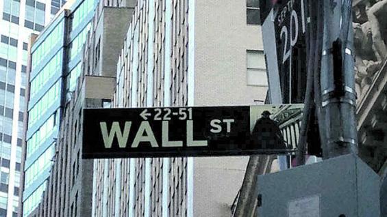 """Wall Street, donde se """"cocinan"""" los negocios del mundo."""