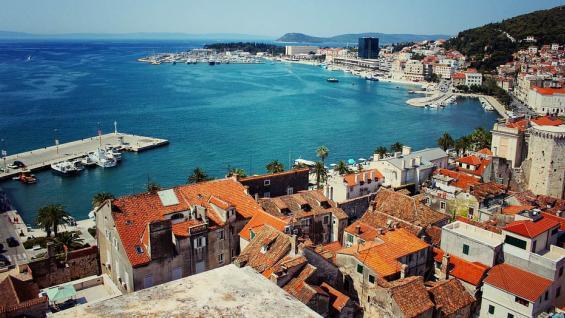 Split, el centro neurálgico de la Costa Dálmata. /Waldo93 vía Pixabay