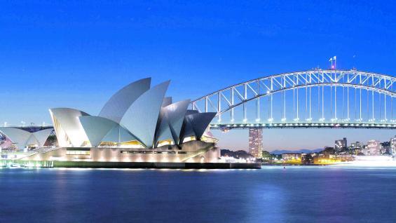 Sidney, Australia, con la barrera de coral más grande del planeta..