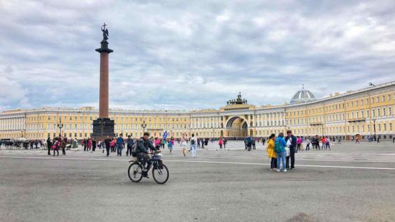 El punto de partida para la mayoría de los que realizan el Transiberiano es por lo general San Petersburgo. Pero no es una regla. (Marina Tortorella)