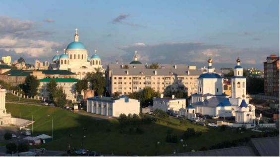 El Kremlin de Kazán es la principal ciudadela histórica de la República de Tartaristán, situado en la ciudad de Kazán. (Marina Tortorella)