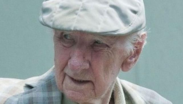 Prófugo. Csatary tiene 97 años y por décadas eludió a la Justicia (LaVoz/Archivo).