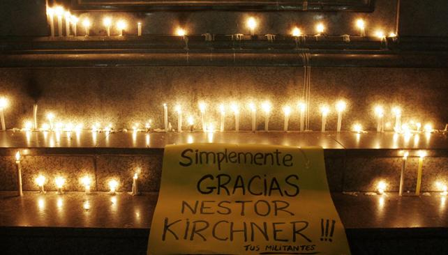 KIRCHNER. Murió hoy en El Calafate.