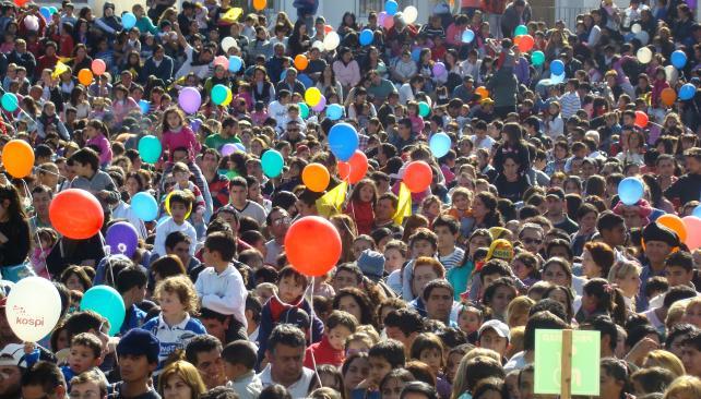 VILLA ALLENDE. Una fiesta solidaria (Prensa Arcor).