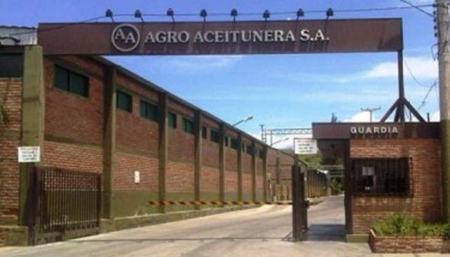Vacío. Así se ve en estos días el predio de Agro Aceitunera, que dejó de exportar en mayo.