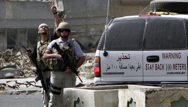 Alarma mundial. La ONU pidió regular las actividades de firmas privadas de seguridad como las que operaban en Afganistán (AP).
