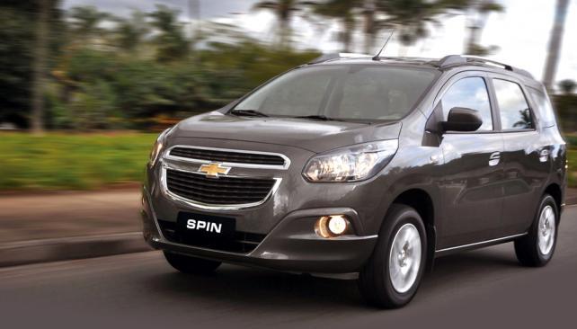 Los trazos del diseño siguen fielmente la identidad actual de los  productos globales de Chevrolet, que aquí se inaugurarán con el Agile.
