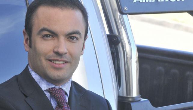 """Con todo. """"Amarok ya es la más vendida en Córdoba"""", dice O'Farrell."""