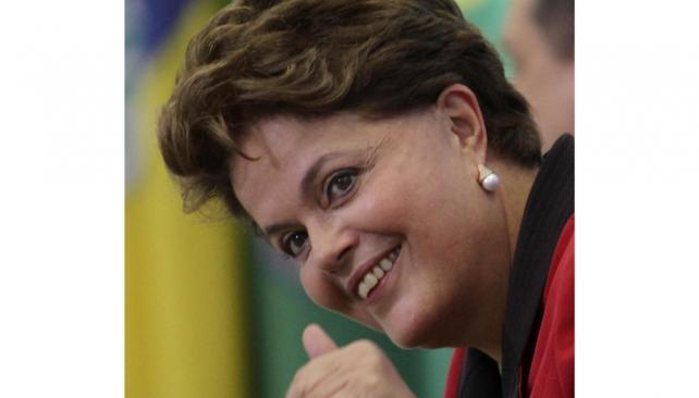 Medidas. La presidenta Dilma Rousseff impulsó medidas para incentivar la actividad industrial (AP).