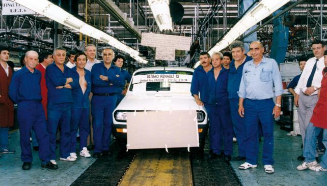 El último Renault 12 salió de fábrica en 1994 (Gentileza Renault Argentina).