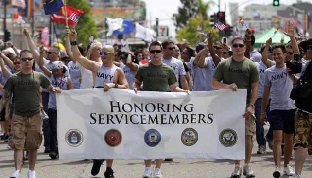 EXCEPCIÓN. Para el desfile del orgullo gay que se realizará el sábado en San Diego (AP/Archivo).