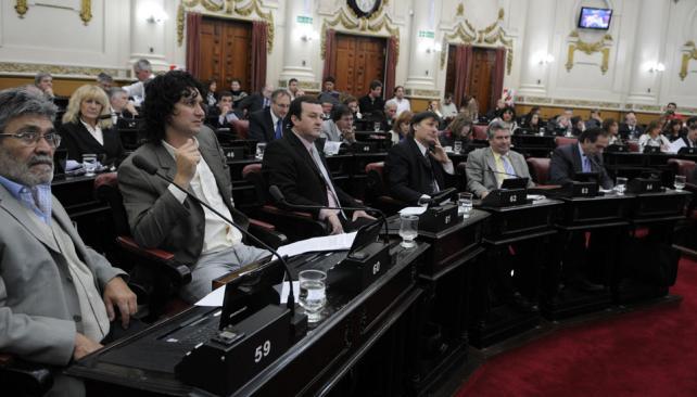 EN LA LEGISLATURA. Se aprobó la ley con el visto bueno del oficialismo y, al menos, del bloque del radicalismo  (José Hernández/LaVoz).