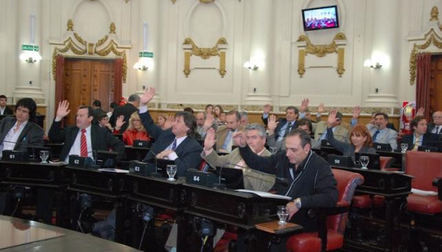 APROBACIÓN DE LA LEY. Gentileza Legislatura de Córdoba.