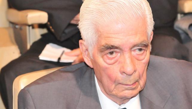 MENÉNDEZ. El ex jefe del Tercer Cuerpo del Ejército (La Voz/Archivo).