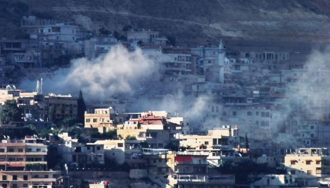 Bajo fuego. Damasco también es escenario de duros combates entre la oposición armada y el régimen (AP)