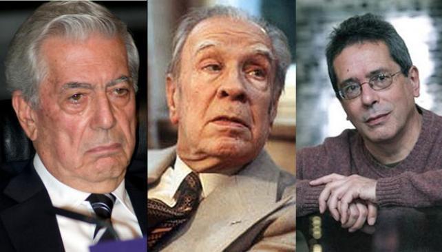 Mario Vargas Llosa, Jorge Luis Borges, César Aira.