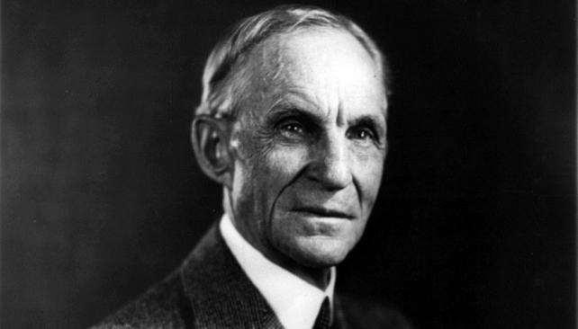 Henry Ford, fundador de la compañía Ford Motor Company y padre de las cadenas de producción modernas con las que Ford revolucionó la industria automovilística. (Foto Mundo Maipú)