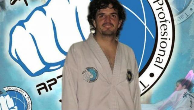 """Preso. Zalazar es profesor de taekwondo. """"Usó sus conocimientos para matar"""", dijo un funcionario. (Los Andes)"""