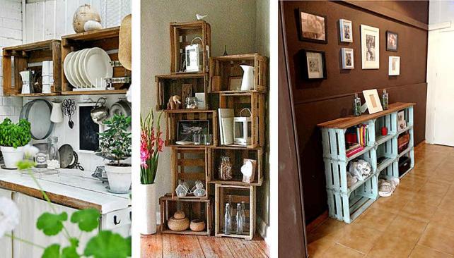 Decorar con cajones reciclados la voz del interior for Diseno de muebles con cajones de verduras