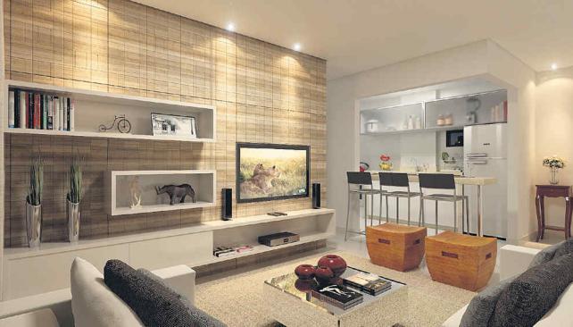 Sala De Tv Y Cocina ~ Salas de TV organizada y con estilo  La Voz del Interior
