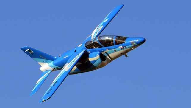 Un IA-63 Pampa modernizado, que ahora se rebautiza como Pampa III.
