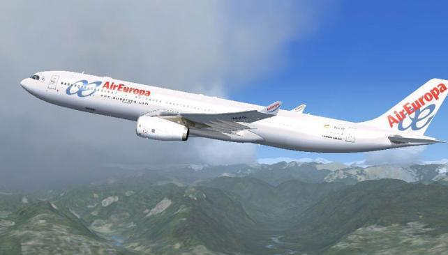 Air Europa comenzó la venta de Córdoba-Madrid, vía Asunción (La Voz /Archivo).