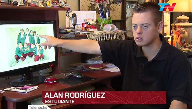 SECUNDARIO. César Alan Rodríguez tendrá su título secundario.