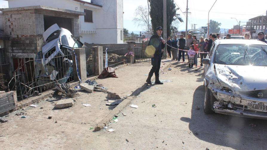 CARLOS PAZ. Imágenes tras la tragedia (Santiago Berioli/LaVoz).