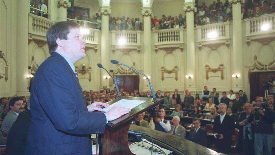 Germán Kammerath. Vicegobernador primero e intendente después.