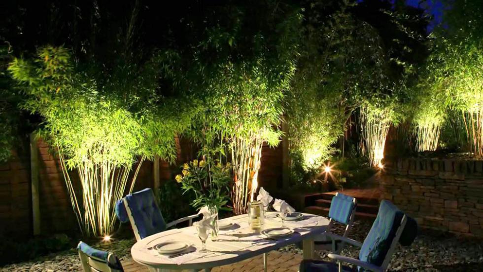 C mo iluminar el jard n tips para mejorar las noches del for Iluminacion arboles jardin